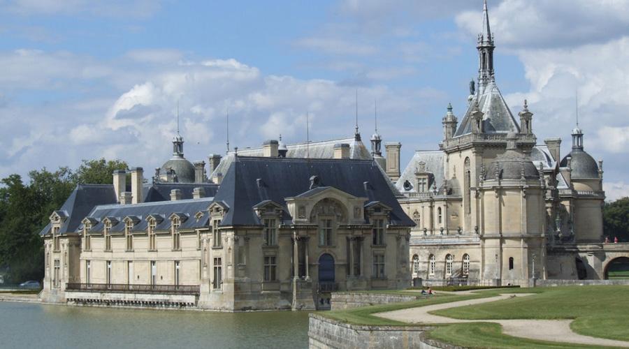 bus amis du louvre - Chateau de Chantilly