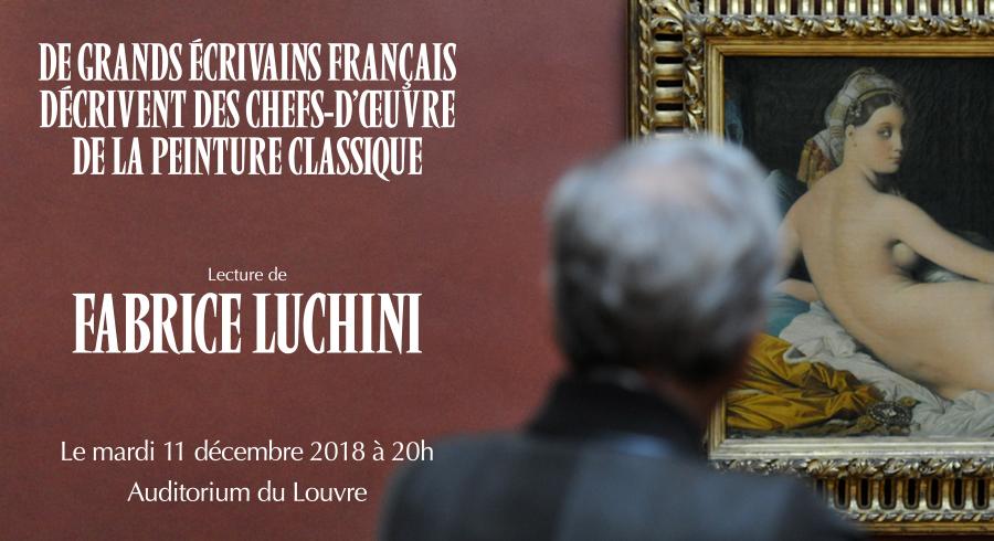 Soirée annuelle des amis du Louvre Luchini