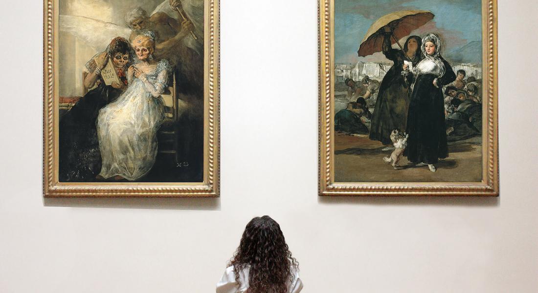 (c)PBALille - les jeunes et les Vieilles de F de Goya