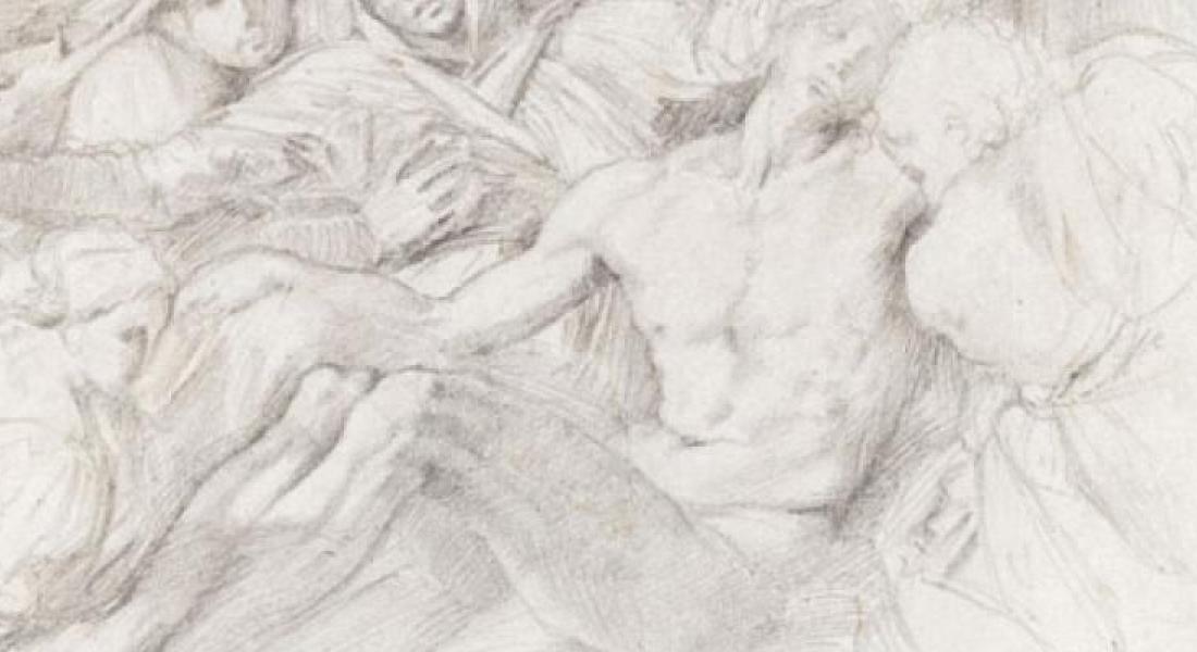 Pietà, Edgar Degas, don de Mme Nicole Willk-Brocard en 2010