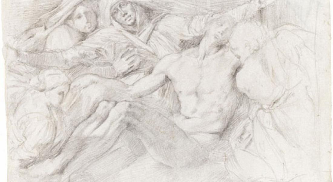 Pietà, Edgar Degas