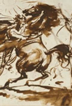 Bucéphale dompté par Alexandre (recto)
