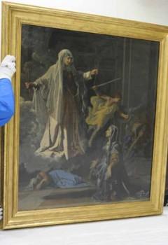 Un nouveau cadre pour la Sainte Françoise Romaine