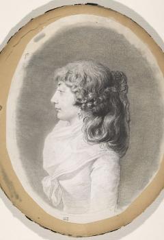 Portrait de femme de profil