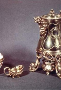 Nécessaire offert par Louis XV à la reine Marie Leczinska