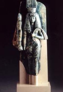 La Reine Tiy, élément d'un groupe royal