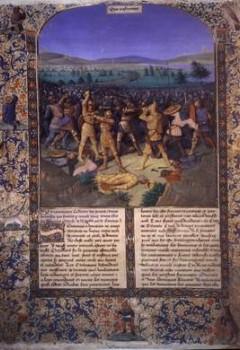 Bataille entre Romains et Carthaginois, dite La Bataille de Cannes