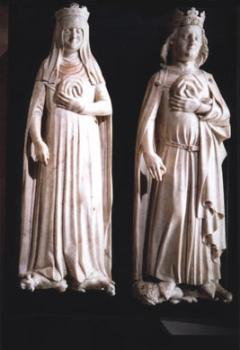 Charles IV le Bel, roi de France et Jeanne d'Evreux, reine de France