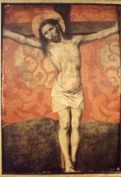 Le Christ en croix de Barthélemy d'Eyck