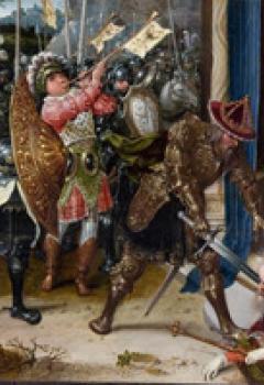 Héraclius décapitant Chosroès
