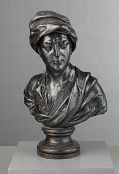 Portrait de Matthew Prior (d'après un buste en marbre de Coysevox)