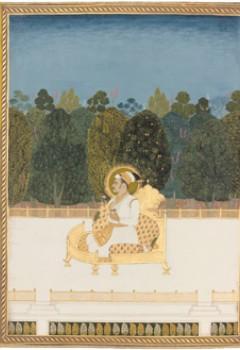 Album de peintures et de dessins en concertina