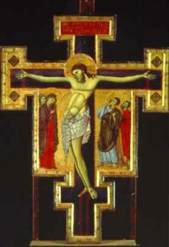 Croix peinte du Maître de San Francesco