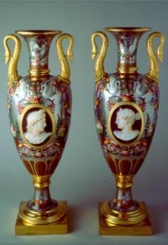 Paire de vases « fuseau »