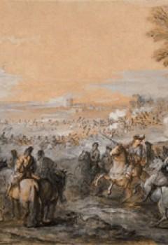 Passage du Rhin à Tolhuis par les armées du roi, le 12 juin 1672