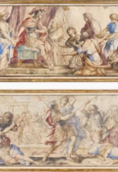 L'Enlèvement des Sabines et La Continence de Scipion