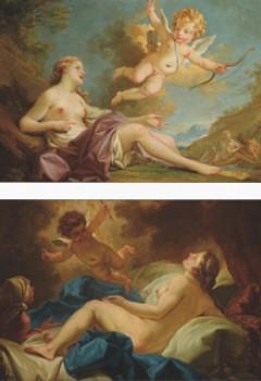 Vénus et Amour et Danaé