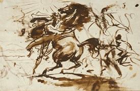 Nouvelle acquisition par la Société des Amis du Louvre - deux dessins d'Antoine-Jean Gros