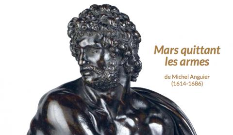 Une contribution exceptionnelle des Amis du Louvre à l'acquisition par l'État d'un trésor national - Mars quittant les armes