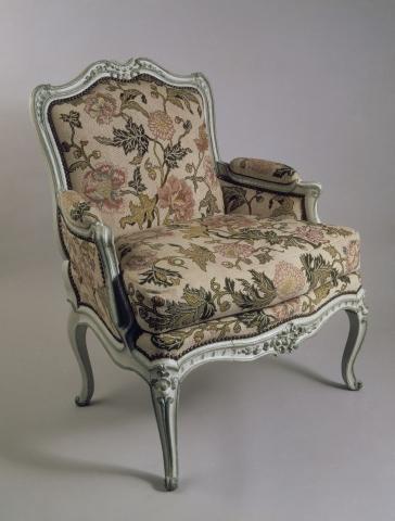 Suite de six chaises estampillées M. Cresson