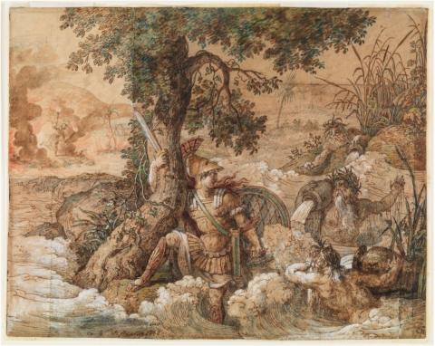 Sept dessins pour le Louvre