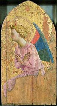 Ange en adoration