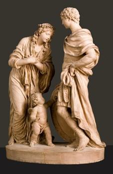 Briséis quittant Achille.