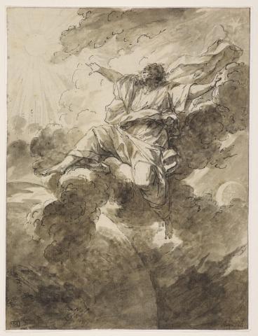 Dieu séparant la lumière des ténèbres