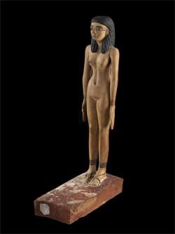 Dame Henen issue de la tombe du trésorier Nakhti