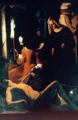 Saint Sébastien soigné par Irène