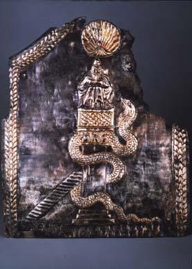 Plaque de saint Syméon