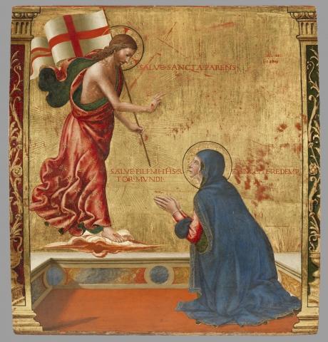 Panneau de Domenico Ghirlandaio
