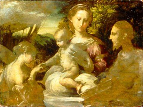 Le Mariage mystique de sainte Catherine