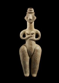 Statue-vase d'Iran du Nord