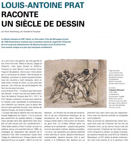 Le dessin français par Louis-Antoine Prat