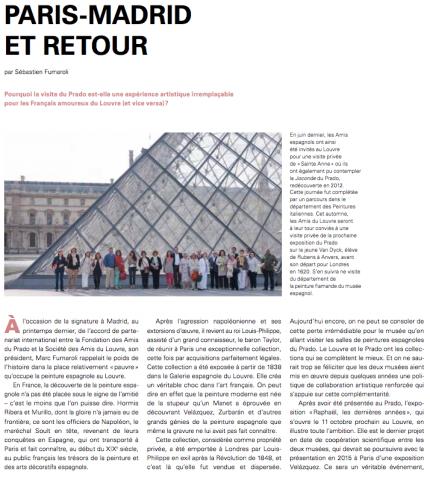 Paris-Madrid et retour