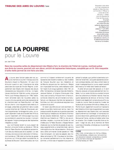 De la pourpre pour le Louvre