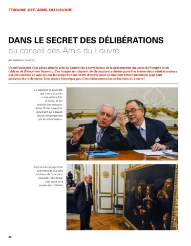 Dans le secret des délibérations du conseil des Amis du Louvre