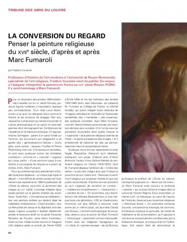 La conversion du regard