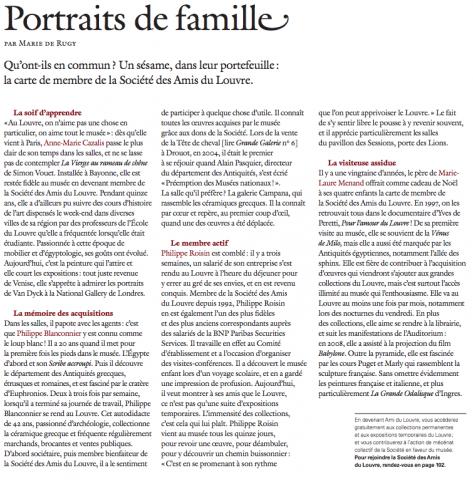Amateurs d'art : un portrait de famille