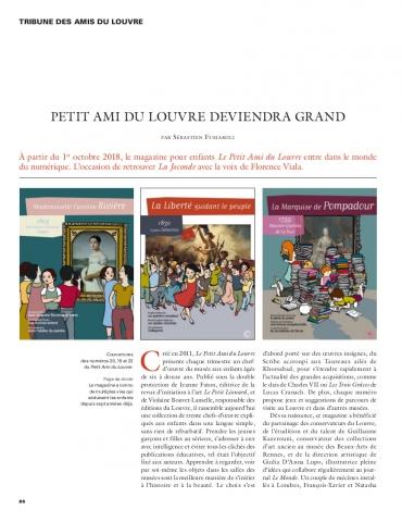 Tribune Petit Ami du Louvre
