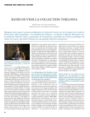 Redécouvrir la collection Torlonia