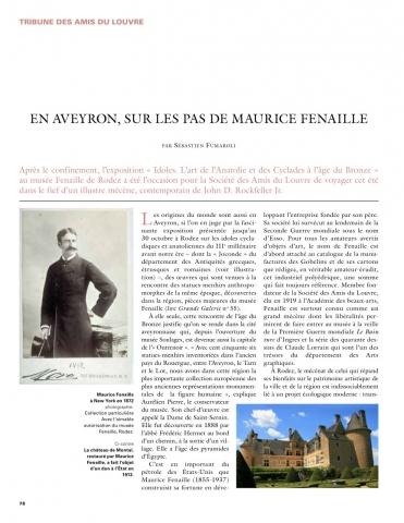 Tribune Grande Galerie 56