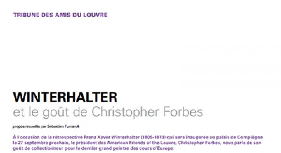 Winterhalter et le goût de Christopher Forbes