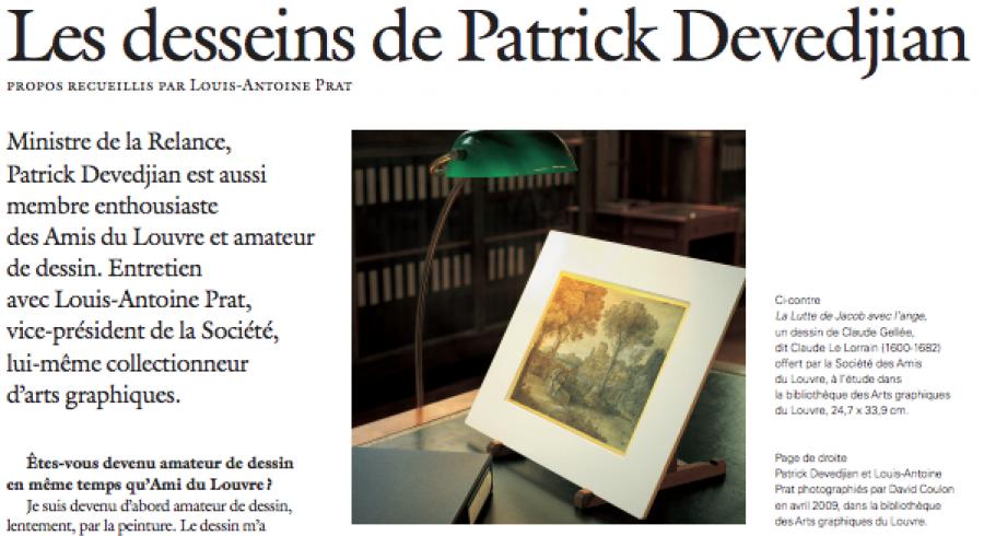 Patrick Devedjian : une autre vie de collectionneur