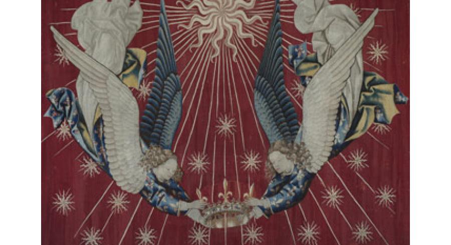 Dais pour le trône de Charles VII