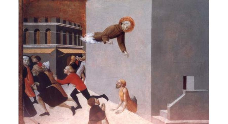 Le Bienheureux Rasini délivre quatre-vingt-dix pauvres gens d'une prison de Florence
