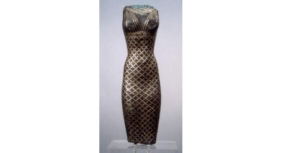 Statuette de femme debout