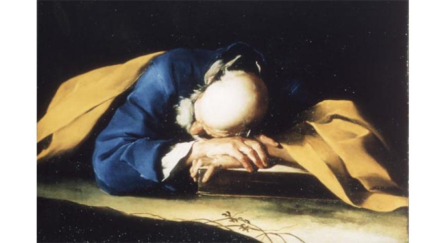 Le Sommeil de saint Pierre