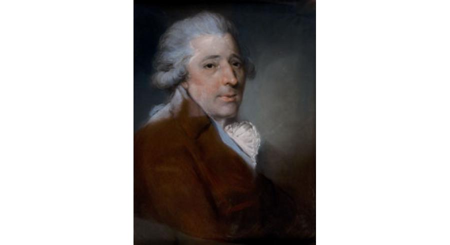 Portrait du graveur Francesco Bartolozzi
